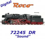 72245  Roco Steam locomotive Class 50.50 of the DR, Sound