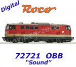 72721 Roco Diesel locomotive class 2143 of the OBB, Sound