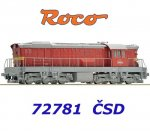 72781 Roco Locomotive Class T669.0 of the CSD