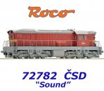 72782 Roco Locomotive Class T669.0, CSD - Sound