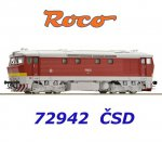 72942 Roco Locomotive class T478.1 of the CSD