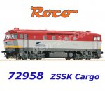 72958 Roco Diesel Locomotive 751 127-2 of the ZSSK Cargo