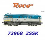 72968 Roco Locomotive Class 752 of the ZSSK