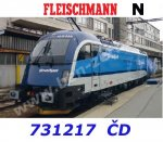 "731217 Fleischmann N Electric locomotive Rh 1216 ""Railjet"", CD"