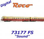 73177 Roco TEE Diesel railcar class ALn 442/448 of the FS, Sound