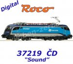 "73219 Roco Electric Locomotive Class 1216 ""Railjet"" of the CD, Sound"