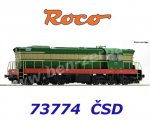 73774 Roco Diesel Locomotive Class T 669.0  of the CSD