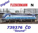 739376 Fleischmann N Electric Locomotive Class 193 Vectron of the CD, Sound