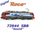 73944  Roco Electric Locomotive Class 193 of the SBB Cargo International, Sound