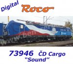 73946 Roco Electric Locomotive Class  383, of the CD Cargo, Sound