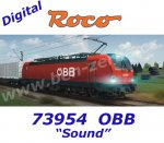 73954 Roco Electric Locomotive Class 1293 Vectron of the OBB, Sound