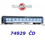 74929 Tillig Passenger Coach 1st/2nd class  AB 350, type Y, of the CD