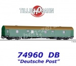 74960 Tillig Mail wagon type Post me-bII/24,2, Deutche Post