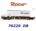 76220 Roco Pocket Car Sdgmns 33, AAE with  Semi-trailer of the DB Schenker