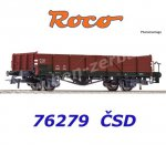 76279 AKCE Roco Open Goods Wagon Type Vtgr, of the CSD