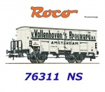 "76311 Roco Beer wagon ""Van Vollenhoven"" used by the NS"