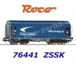 76441 Roco Sliding Tarpauline Car Type Shimmns of the ZSSK Cargo