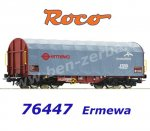 76447 Roco Sliding Tarpaulin Car Type Shimms, of the ERMEWA