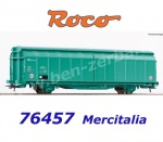 76457 Roco Sliding wall wagon type Hbbillns of the Mercitalia Rail