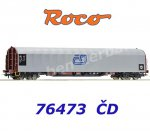 76473 AKCE Roco Closed Slide Tarpaulin WagonType Rils of the CD Cargo