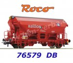 "76579 Roco Swing roof wagon, type Tds ""Railion"" of the DB"