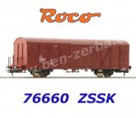 76660 Roco Boxcar type Gbs of the ZSSK