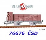 76676 Tillig  Open Car Type Ut of the CSD