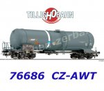 76686 Tillig  Tank Car Type Zans of the AWT (CZ AWT)