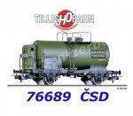 76689 Tillig Tank Car Type R of the CSD