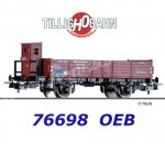 76698 Tillig Open Car Type O Halle with Brakemans Cab of the OEB