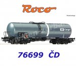76699 Roco Tank Car type Zacns, CD Cargo