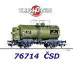 "76714 Tillig Tank Car Type R ""SKLAD OLEJU"" of the CSD"