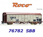 76782 Roco Sliding wall wagon type Hbbillns of the SBB