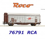 76791 Roco Sliding wall wagon type Hbbillns of the  OBB