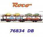 76834 Roco Stand-in deck coach carrier, type Laes 543, of the DB