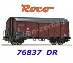 76837 Roco AKCE Box Car with platform Type Gmhs/Bremen, of the DR