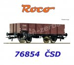 76854 Roco Open Freight Car of the CSD