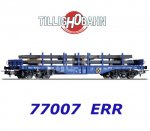 77007 Tillig Flat Car Type Sgmmns 4505 with load,  ERR