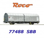 77488 Roco Sliding wall wagon type Hbbillns of the  SBB Cargo