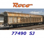 77490 Roco Sliding wall wagon type Hbbinss of the SJ
