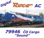 79946 Roco Electric Locomotive Class  383, of the CD Cargo, Sound, AC