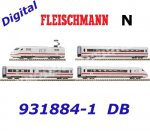 "931884-1 Fleischmann N 4 piece digital set express train ""ICE 2"" of the DB"