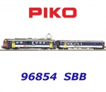 96854 Piko Set Electric unit powered car with control car  Rbe 4/4 NPZ of the SBB