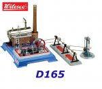 D165 00165 Wilesco  Set of Steam Engine and Accessories