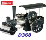 D368 00368 Wilesco Steam Roller Black Nickel
