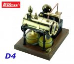 D4 00004 Wilesco 2 Candles Steam Engine