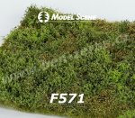 F571 Model Scene Grass mat - Wild Area with Bushes - spring