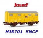 HJ5701 Jouef Closed wagon for transport of cattle,  SNCF