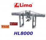 HL8000 Lima Container crane with 2 containers