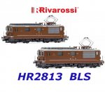 HR2813 Rivarossi Set of 2 Electric locomotives class Re 4/4, BLS 161 / SEZ 177